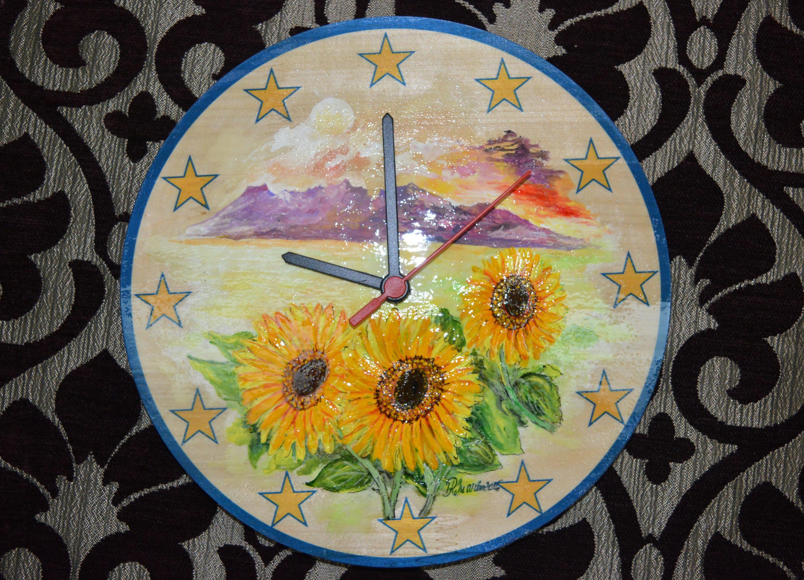 ceas de flori