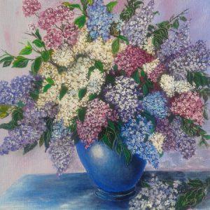buchet de flori într-o vază